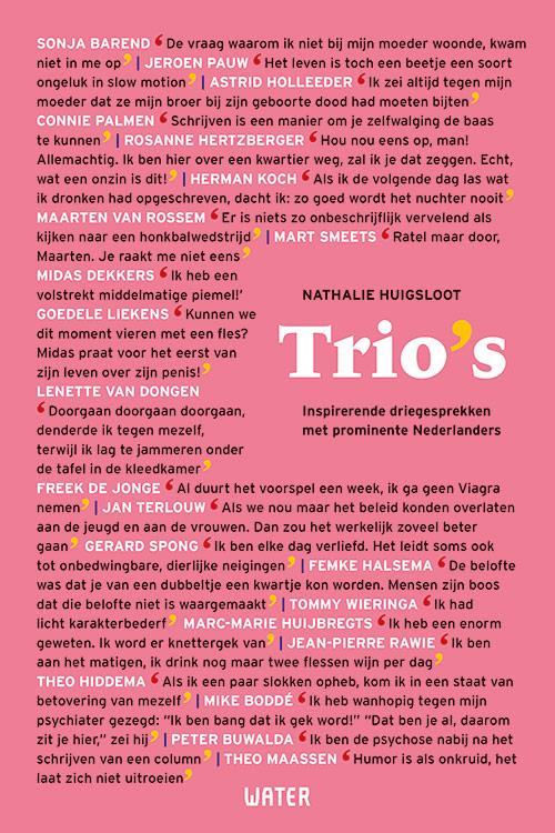 Trio's Nathalie Huigsloot