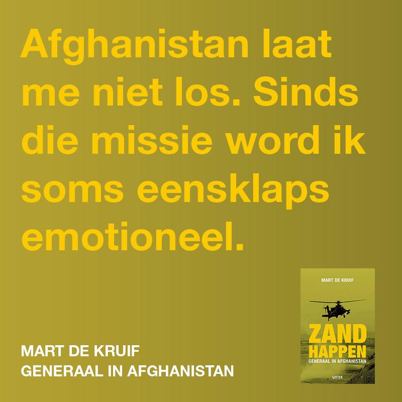 Afghanistan laat me niet los