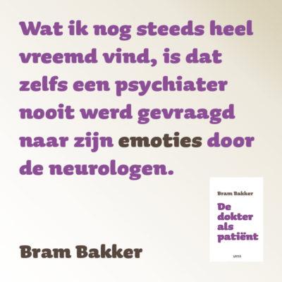 Zelfs een psychiater ..