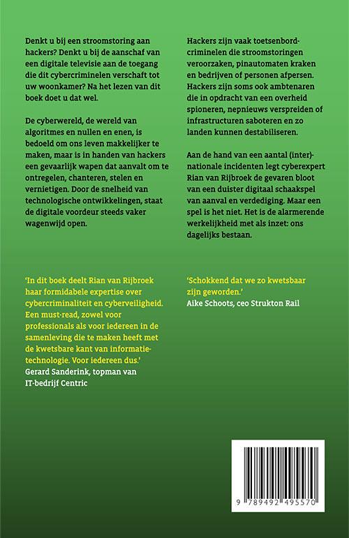 Unhacked Rian van Rijbroek boek cyberexpert Uitgeverij Water